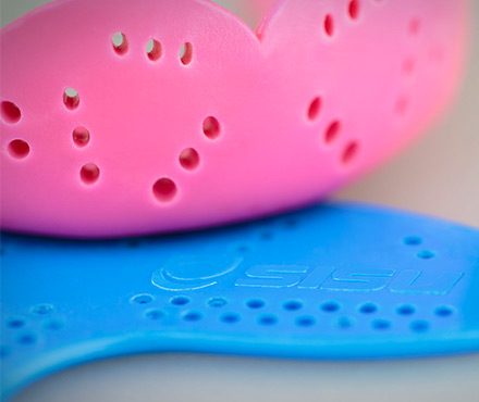 SISU Mouthguard Perforations